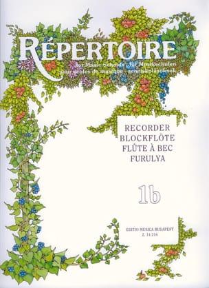 Repertoire for music schools - Volume 1B - Recorder laflutedepan