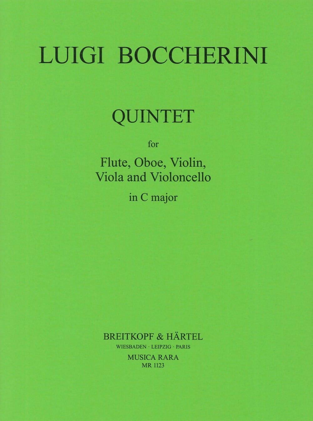 Quintette In C Do M. - Flûte-Hautbois-Violon-Alto-Cello - laflutedepan.com