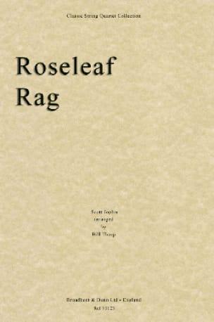 Roseleaf Rag - String quartet - JOPLIN - Partition - laflutedepan.com