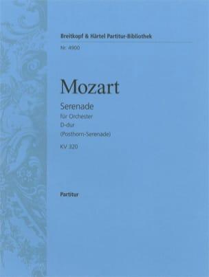 Serenade D-dur KV 320 - Partitur - MOZART - laflutedepan.com