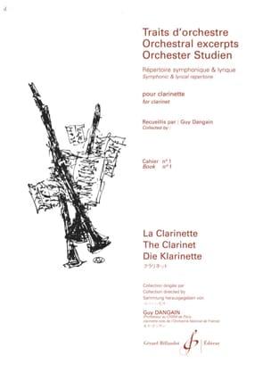 Traits D'orchestre Volume 1 - Guy Dangain - laflutedepan.com