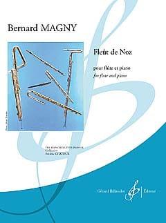 Fleût De Noz Bernard Magny Partition Flûte traversière - laflutedepan