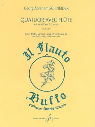 Quatuor avec flûte en sol mineur - Opus 69 n° 3 laflutedepan