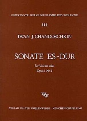 Sonate Es-Dur op. 3 n° 2 - laflutedepan.com