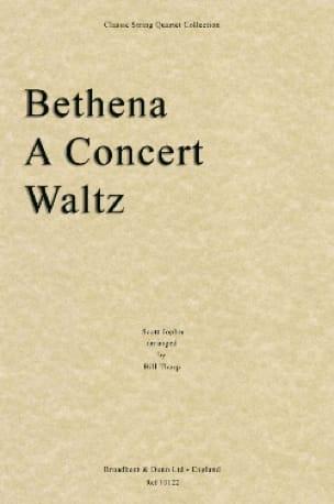 Bethena - String quartet - JOPLIN - Partition - laflutedepan.com