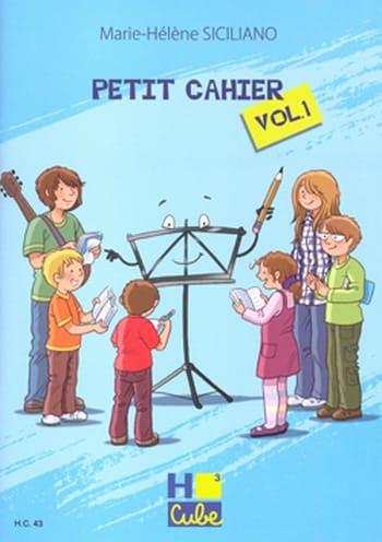 Petit Cahier de Révision Volume 1 - SICILIANO - laflutedepan.com