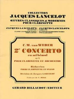 Concerto Clarinette n° 2 en mib majeur op. 74 laflutedepan