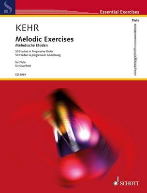 Melodic Exercises - Renate Kehr - Partition - laflutedepan.com