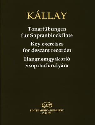 Exercices De Tonalités Flûte A Bec Soprano Gabor Kallay laflutedepan