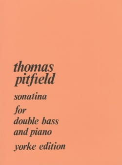 Sonatina - Thomas Pitfield - Partition - laflutedepan.com