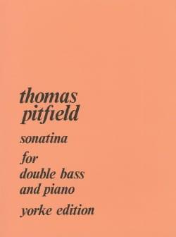 Sonatina Thomas Pitfield Partition Contrebasse - laflutedepan