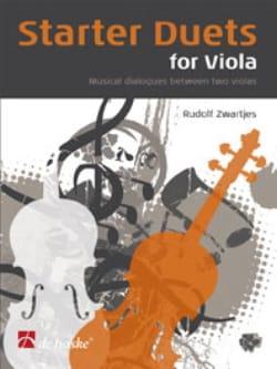 Starter Duets For Viola Rudolf Zwartjes Partition Alto - laflutedepan