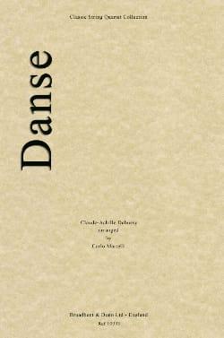 Danse - String quartet DEBUSSY Partition Quatuors - laflutedepan