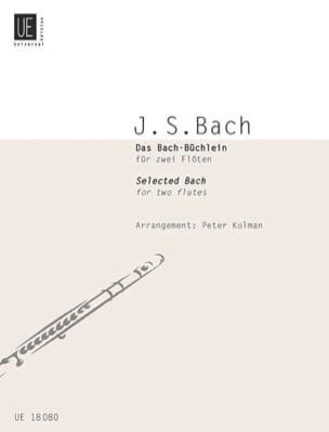 Das Bach-Büchlein - 2 Flöten laflutedepan