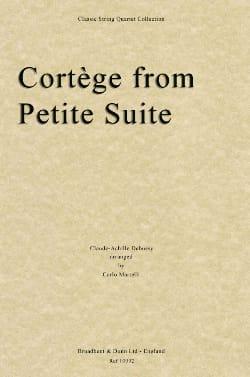 Cortège extr. Petite Suite - String Quartet DEBUSSY laflutedepan