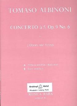 Concerto en Sol Majeur à 5, Opus 9 N° 6 - Matériel Complet laflutedepan