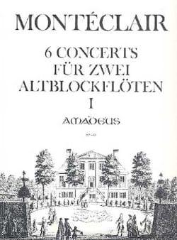 Six Concerts Pour Deux Flutes A Bec Band 1 - laflutedepan.com