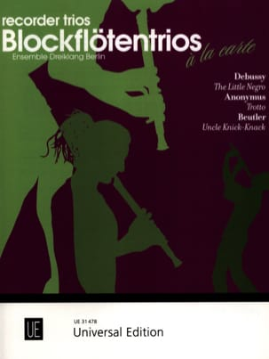 The Little Negro, Trotto, Uncle Knick - Knack DEBUSSY laflutedepan