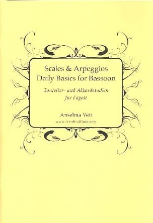 Scales and Arppeggios, Daily Basics - Basson Anselma Veit laflutedepan