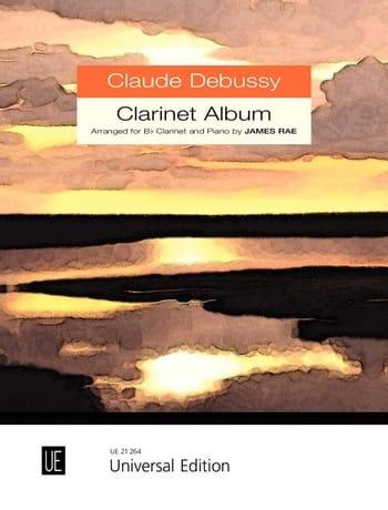 Clarinet Album - DEBUSSY - Partition - Clarinette - laflutedepan.com
