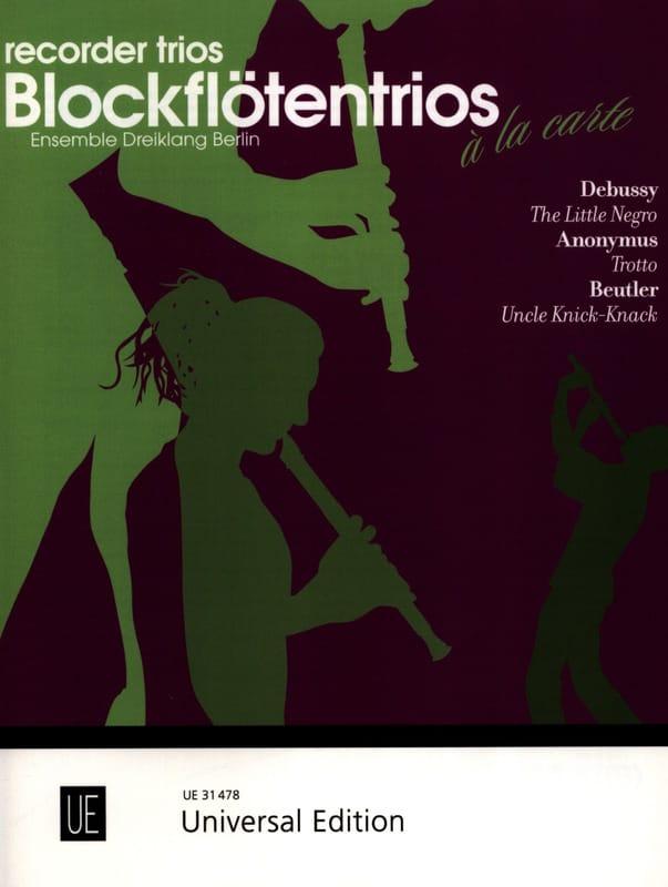 The Little Negro, Trotto, Uncle Knick - Knack - laflutedepan.com