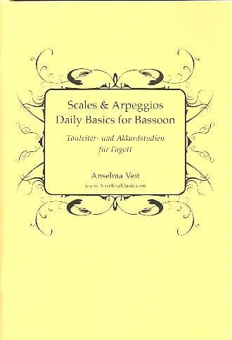 Scales and Arppeggios, Daily Basics - Basson - laflutedepan.com