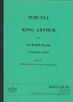 King Arthur - Score PURCELL Partition Grand format - laflutedepan