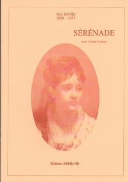 Sérénade - Violon et piano Mel Bonis Partition Violon - laflutedepan