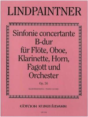 Sinfonie Concertante B-Dur op. 36 - Flöte Oboe Klar. Horn Fg. Klavier laflutedepan