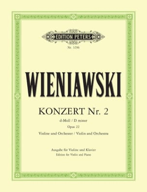 Concerto n° 2 ré mineur op. 22 - Violon WIENAWSKI laflutedepan