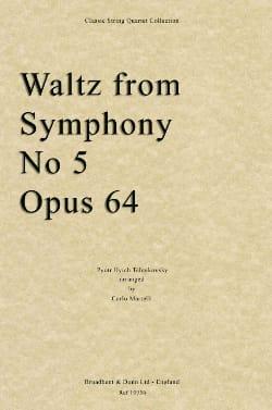 TCHAIKOVSKY - Waltz from Symphony No. 5 - Quartet String - Partition - di-arezzo.co.uk