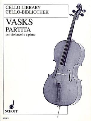 Partita Peteris Vasks Partition Violoncelle - laflutedepan