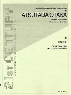 Visions d'un Jour d'Eté Atsutada Otaka Partition laflutedepan