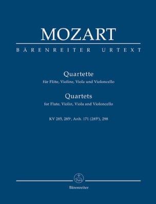 Quartette für Flöte, Violine, Viola und Violoncello. Urtext. laflutedepan