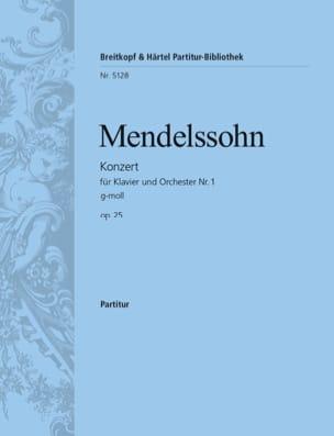 Klavierkonzert Nr. 1 g-moll - MENDELSSOHN - laflutedepan.com
