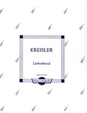 Fritz Kreisler - Liebesfreud - Alto - Partition - di-arezzo.es
