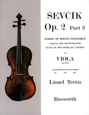 Etudes Opus 2 / Partie 3 - Alto Otakar Sevcik Partition laflutedepan