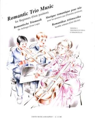Romantic Trio Music Music For Beginners Vigh Pejtsik laflutedepan