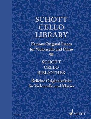 Schott Cello Library Partition Violoncelle - laflutedepan