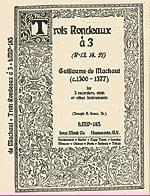 Trois Rondeaux à 3 - Guillaume de Machaut - laflutedepan.com