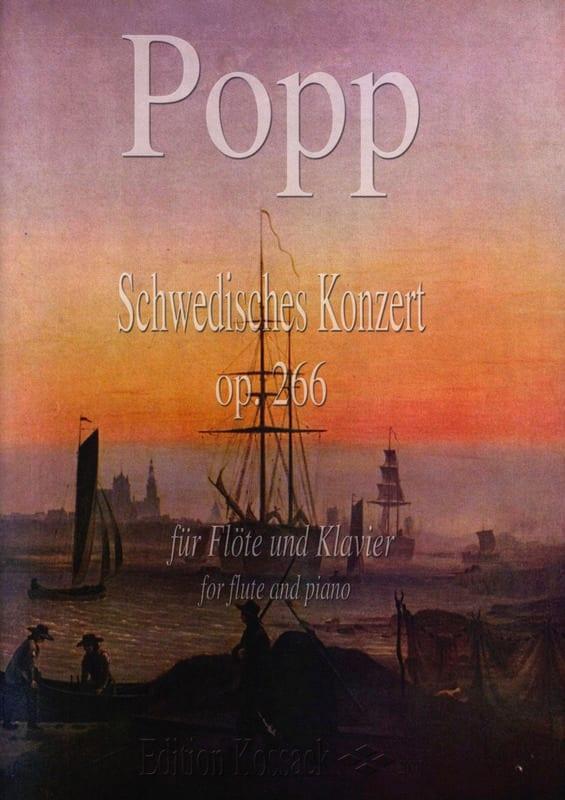 Schwedisches Konzert Op. 266 - Wilhelm Popp - laflutedepan.com
