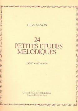 24 Petites études mélodiques - Cello - Gilles Senon - laflutedepan.com