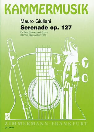 Serenade op. 127 - Flöte Violine Gitarre Mauro Giuliani laflutedepan