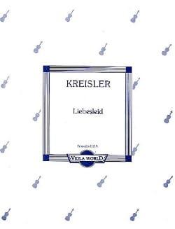 Liebesleid - Alto KREISLER Partition Alto - laflutedepan