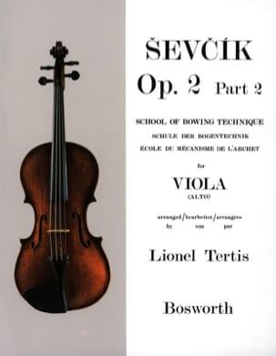 Etudes Opus 2 / Partie 2 - Alto Otakar Sevcik Partition laflutedepan