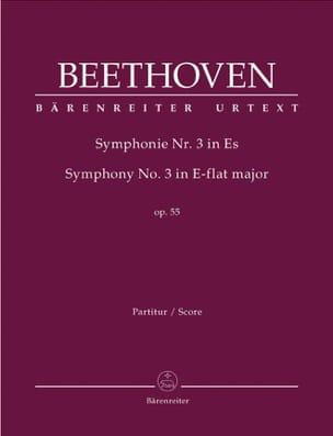 Symphonie Nr. 3 Eroica Es-Dur op. 55 - Partitur BEETHOVEN laflutedepan