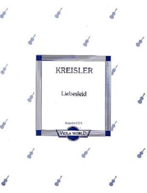 Liebesleid - Alto - KREISLER - Partition - Alto - laflutedepan.com