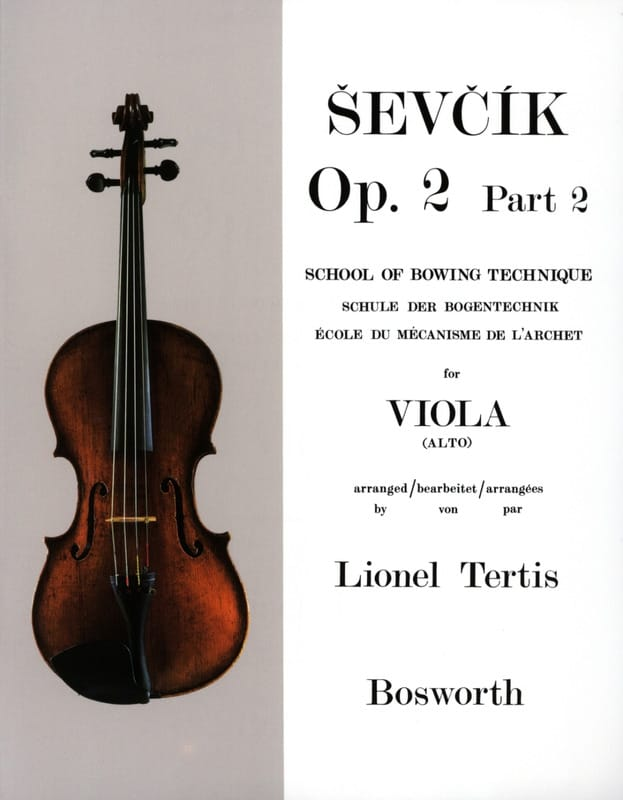 Etudes Opus 2 / Partie 2 - Alto - Otakar Sevcik - laflutedepan.com