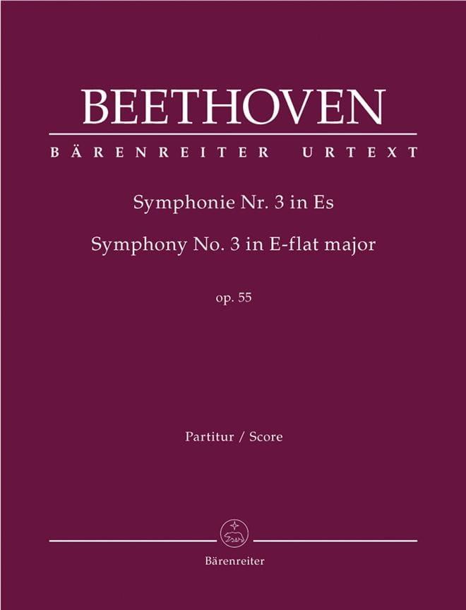 Symphonie Nr. 3 Eroica Es-Dur op. 55 - Partitur - laflutedepan.com