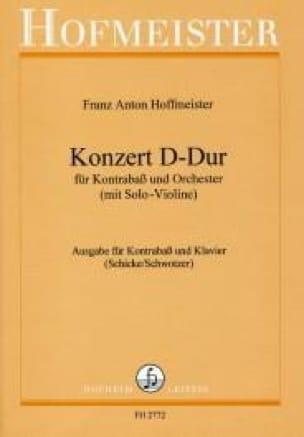 Konzert D-Dur - Kontrabass - HOFFMEISTER - laflutedepan.com